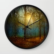 Wall Clock featuring In Seed Time Learn, In H… by Viviana Gonzalez
