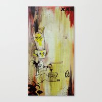 Deathy By Fresh Toast Canvas Print