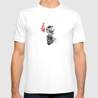 I ❤ NIGHT OWLS Mens Fitted Tee White SMALL