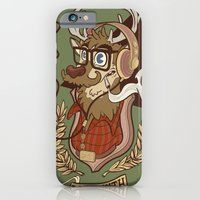 iPhone & iPod Case featuring Oh my Deer (be unique and forever young like a 1960 radio) by Matteo Cuccato