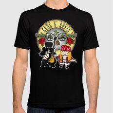 Gunsand-Roses Mens Fitted Tee Black SMALL