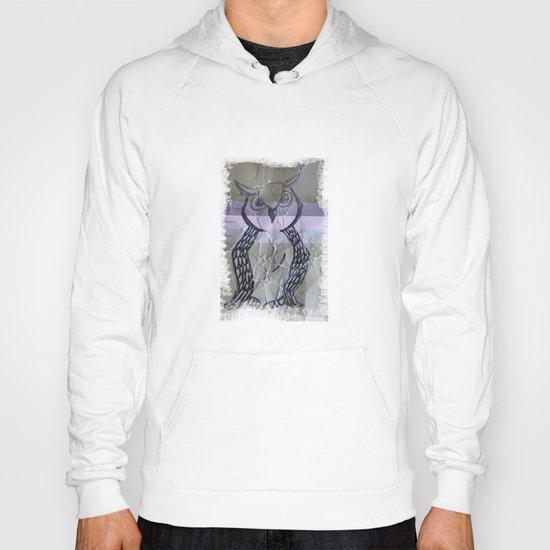olive owl Hoody