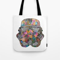 Stormtrooper Galaxy Tote Bag