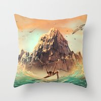 CAPRICORN from the Dancing Zodiac Throw Pillow