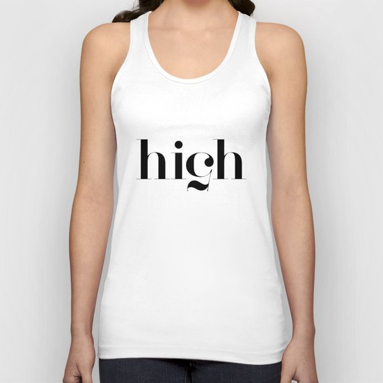 Typography Unisex Tank Top