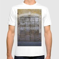 Door 4 Mens Fitted Tee White SMALL