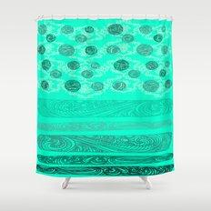 NEW DOT2 Shower Curtain