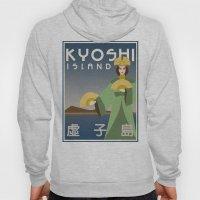 Kyoshi Island Travel Poster Hoody
