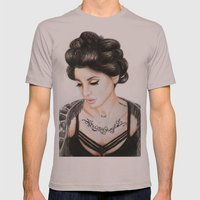 Christina Perri Mens Fitted Tee Cinder SMALL