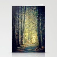 Licht am Ende des Weges Stationery Cards