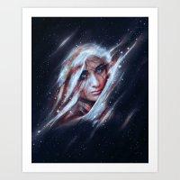 A Spot Between The Stars Art Print