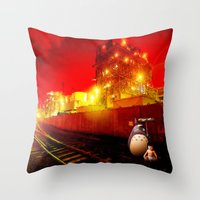 Miracles of Modern Science Throw Pillow