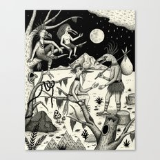 Welcomed Into the Fold By Other Strange Birds Canvas Print