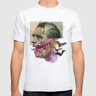 The Joker Mens Fitted Tee Ash Grey SMALL