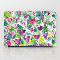 COLLAGE LOVE: Funky Triangles iPad Case