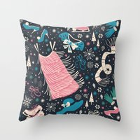 Frou Frou Throw Pillow