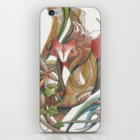 Essence of the fox iPhone & iPod Skin
