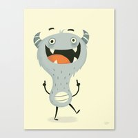 Mindless Happiness Canvas Print