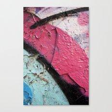 Pink Curve Canvas Print