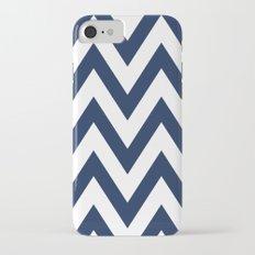 Navy Chevron iPhone 7 Slim Case