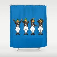 Oompa Loompa YMCA Shower Curtain