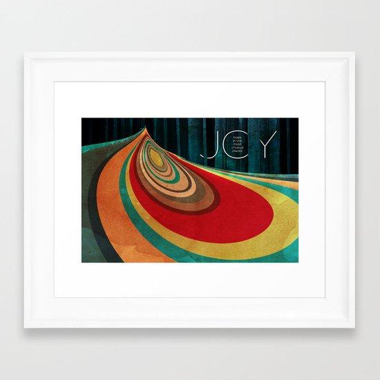 JOY... Framed Art Print