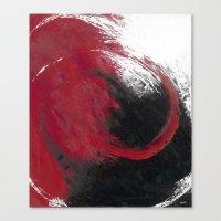 Smoldering Canvas Print