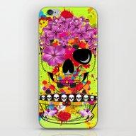 Skulls Dreams iPhone & iPod Skin