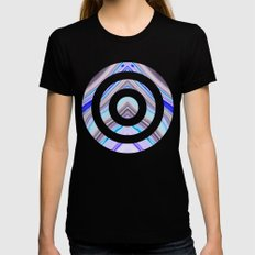 Vane Womens Fitted Tee Black SMALL