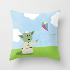 SW Kids - Yoda Kite Throw Pillow