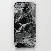 iPhone Cases featuring Marble by Three of the Possessed
