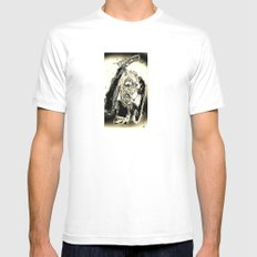 The Deal Maker Mens Fitted Tee SMALL White