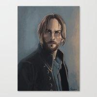 Ichabod Crane Canvas Print