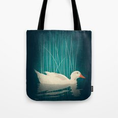 Duck Reflected Tote Bag