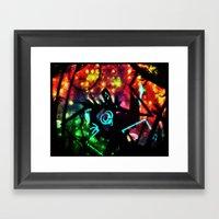 The Psychotic In Me Framed Art Print