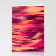 Painted Rainbows 8 Stationery Cards