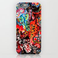 iPhone & iPod Case featuring Rupture Rapture by czavelle