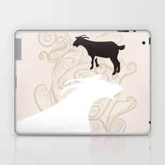 Farm Poster #1 -Goats Laptop & iPad Skin