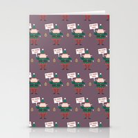 Day 23/25 Advent - Little Helpers on Strike Stationery Cards