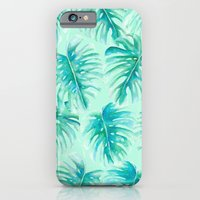 Paradise Palms Mint iPhone 6 Slim Case