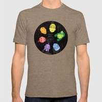 Colorheads Mens Fitted Tee Tri-Coffee SMALL