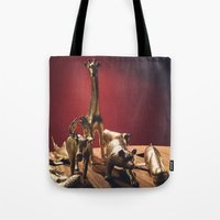 Golden Menagerie Tote Bag