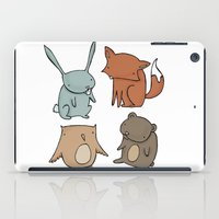 Woodland Animals iPad Case
