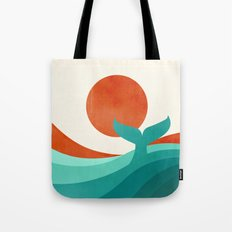 Wave (day) Tote Bag