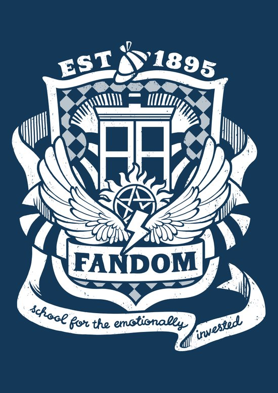 Fandom School for the Emotionally Invested Art Print