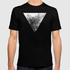 Abstract IX Mens Fitted Tee Black SMALL