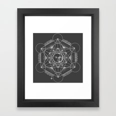 Gnostic Shadow Framed Art Print