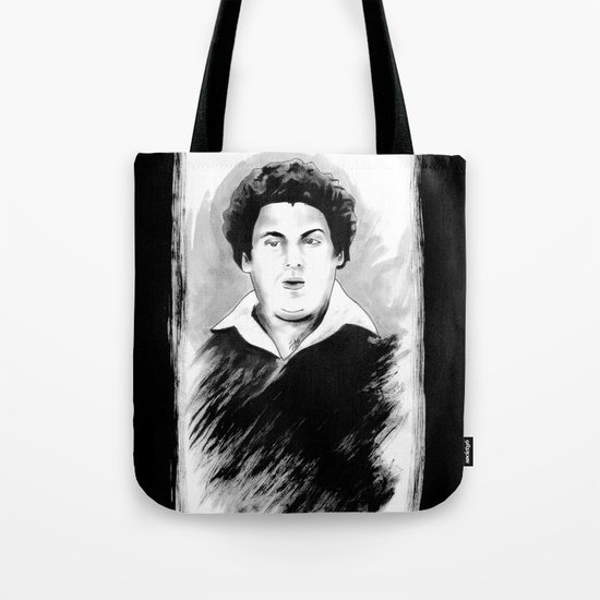 DARK COMEDIANS: Jonah Hill Tote Bag