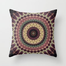 Mandala 273 Throw Pillow