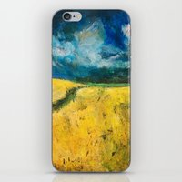 Yellow Fields iPhone & iPod Skin